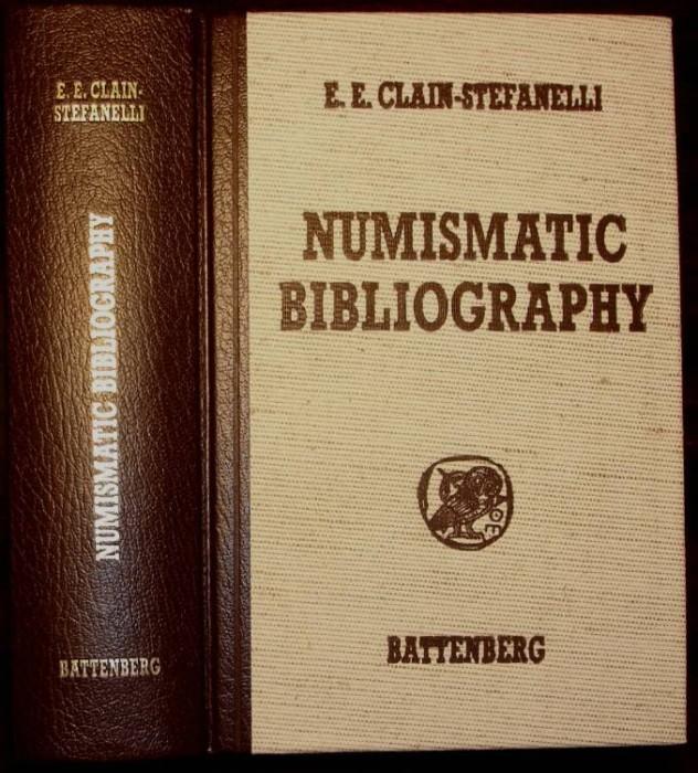 Ancient Coins - Clain-Stefanelli: Numismatic Bibliography