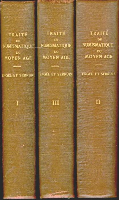 World Coins - Engel & Serrure: Traité de Numismatique du Moyen Age, 3 volumes, 1891-1905