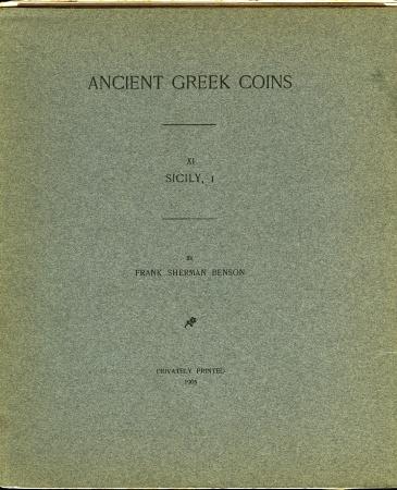 Ancient Coins - Benson: Ancient Greek Coins. Sicily complete