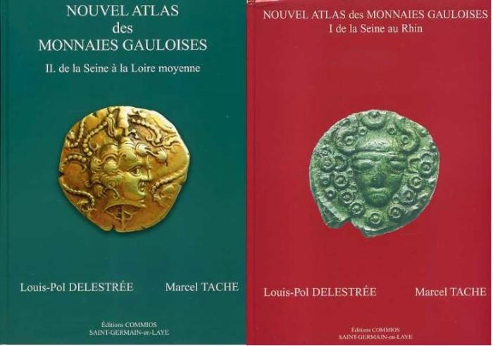 Ancient Coins - Delestree & Tache: Nouvel Atlas des Monnaies Gauloises. 2 Volumes