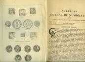 Us Coins - Boston Numismatic Society: American Journal of Numismatics (Vol. XXII.) Warner on Communion Tokens