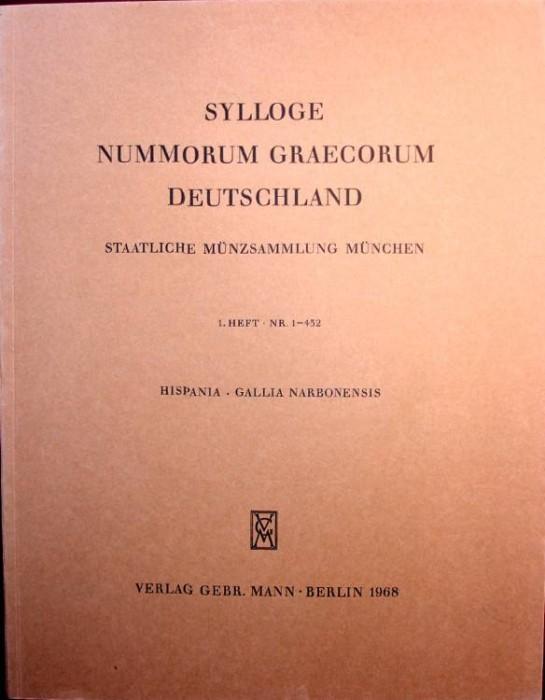 Ancient Coins - SNG DEUTSCHLAND. Munich 1. Hispania. Gallia Narbonensis
