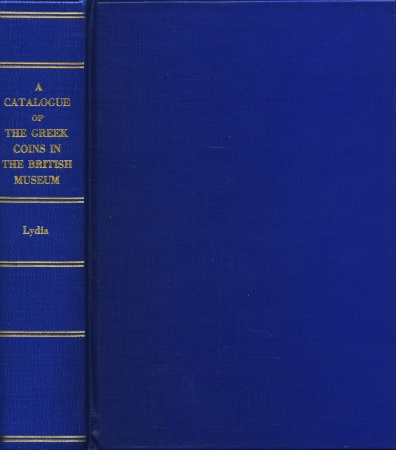 Ancient Coins - BMC Greek 22. Catalogue of the Greek Coins in the British Museum, Lydia