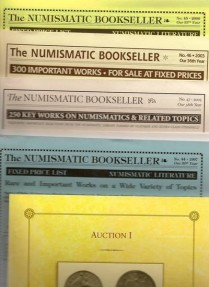 Ancient Coins - Large lot of Numismatic Literature Catalogs and Auctions.