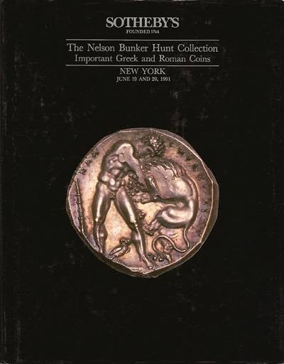 Ancient Coins - Sotheby's. The Nelson Bunker Hunt Collection IV: Important Greek and Roman Coins