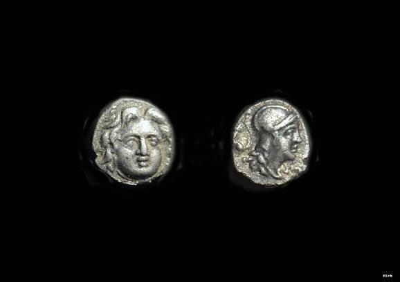 Ancient Coins - PISIDIA, Selge. AR Obol (0.76g), c. 400-333 BC.