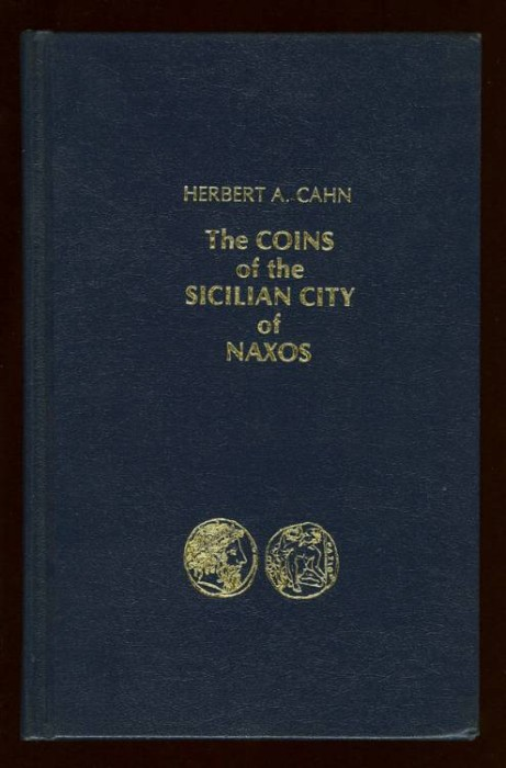 Ancient Coins - Cahn, Herbert A. The Coins of the Sicilian City of Naxos.