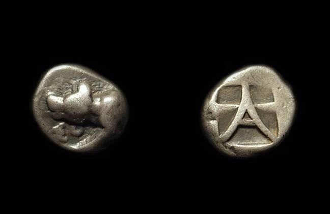 Ancient Coins - ARGOLIS, Argos. AR Triobol (2.74g), c. 450-420 BC.