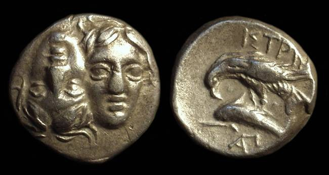 Ancient Coins - THRACE, Istros. AR Stater (4.88g), c. 400-350 BC.