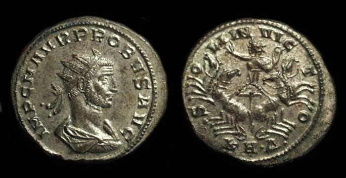 Ancient Coins - PROBUS, AD 276-282. Billon Antoninianus (3.50g).