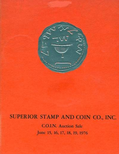 Ancient Coins - Superior: C.O.I.N. Auction sale 15-19 June 1976.