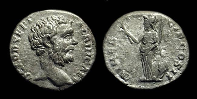 Ancient Coins - CLODIUS ALBINUS as Caesar: AD 193-195. AR Denarius (2.88g).