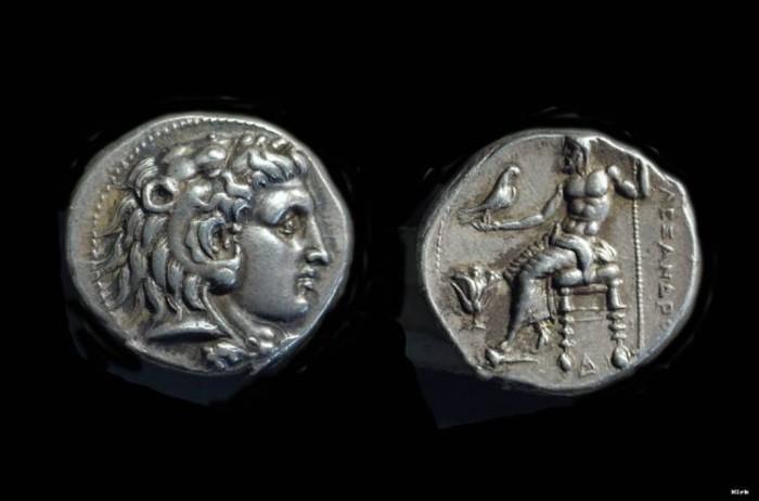 Ancient Coins - EGYPT. Alexander the Great, 336-323 BC. AR Tetradrachm (17.21), Memphis mint.