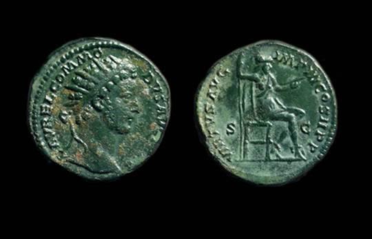 Ancient Coins - COMMODUS, AD 177-192. Æ Dupondius (13.55g).