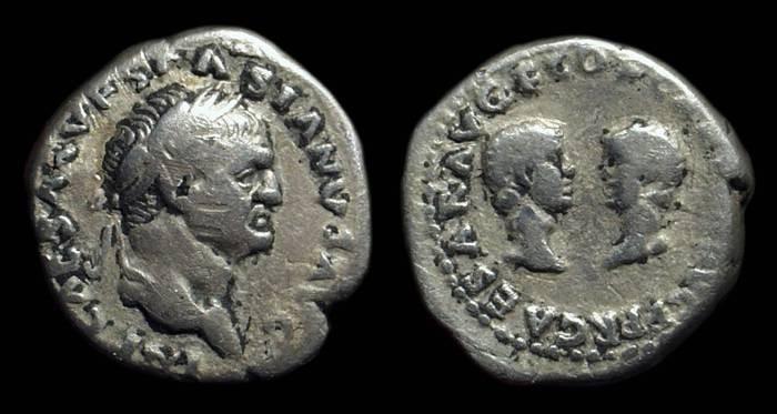 Ancient Coins - VESPASIAN, AD 69-79. AR Denarius (3.05g).