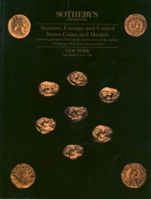 Ancient Coins - Sotheby's. NFA Athena Fund sales (complete).