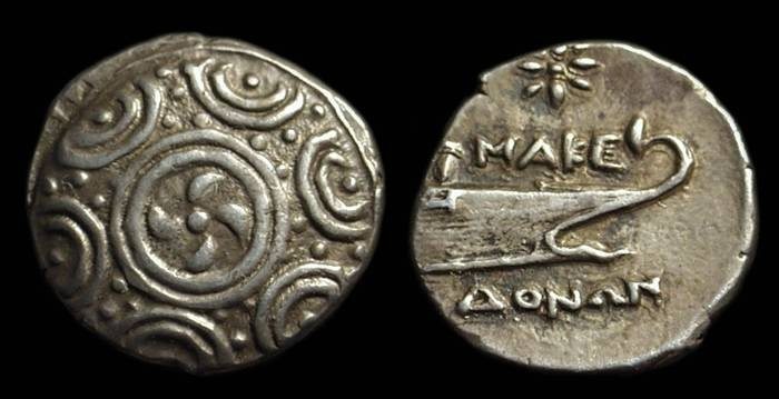 Ancient Coins - MACEDONIA, Anonymous issue, c. 221-168 BC. AR Tetrobol (2.26g).