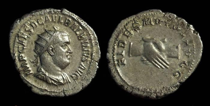 Ancient Coins - BALBINUS, AD 238. AR Antoninianus (4.79g).
