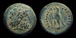 Ancient Coins - EGYPT. Ptolemy III Euergetes, 246-221 BC. Æ 20mm (6.04g). Tyre mint.