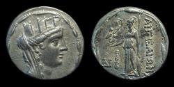 Ancient Coins - CILICIA, Aigeai. AR Tetradrachm (14.42g), c. 47-30 BC