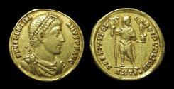 Ancient Coins - VALENTINIAN I, AD 364-375 BC. AV Solidus (4.25g). Antioch mint.