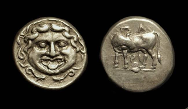 Ancient Coins - MYSIA, Parion. AR Hemidrachm (2.42g), c. 350-300 BC.
