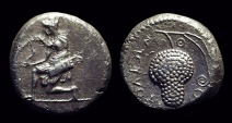 Ancient Coins - CILICIA, Soloi. AR Stater (10.34g), c. 440-410 BC.
