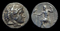 Ancient Coins - MACEDON, Kings of. Philip III, 323-317 BC. AR Tetradrachm (17.09g) of Cyprus mint.