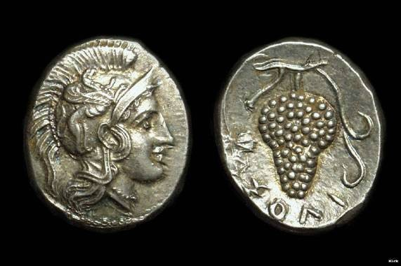 Ancient Coins - CILICIA, Soloi.  AR Stater (9.81g), c. 390-375 BC.