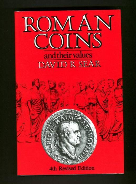 Ancient Coins - Sear. Roman Coins & their Values, 4th ed.  New 2004 reprint.