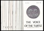 Ancient Coins - The Voice of the Turtle. Lot of 17 issues (1966-1967).