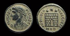 Ancient Coins - Crispus, Caesar: AD 316-326. Æ Follis (2.96g). Nicomedia mint.