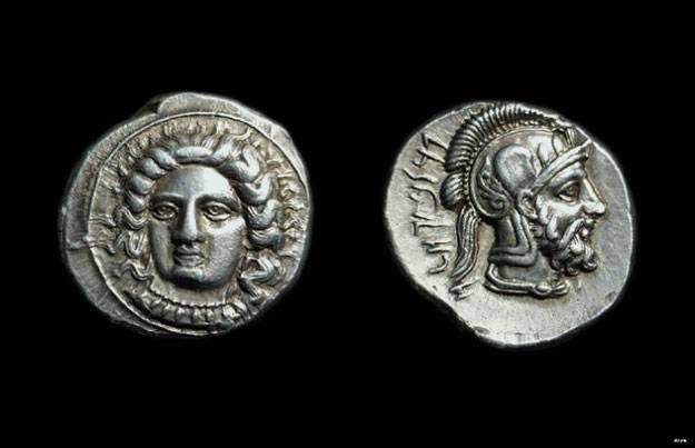 Ancient Coins - CILICIA, Tarsos. Pharnabazos, c. 380-374 BC. AR Stater (10.56g).