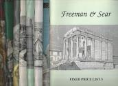 Ancient Coins - Freeman & Sear.  Lot of 11 Fixed-Price Lists (1998-2008)