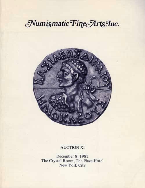 Ancient Coins - NFA. Numismatic Fine Arts, Auction X!, 8 December 1982 (11)