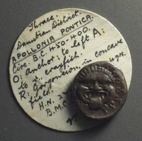 Ancient Coins - THRACE, Apollonia Pontika. AR Hemidrachm (3.35g), c. 450-400 BC.
