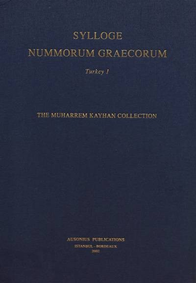 Ancient Coins - SNG Turkey 1: The Muharrem Kayhan Collection