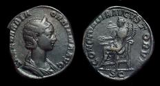 Ancient Coins - Orbiana: Wife of Severus Alexander. Æ Sestertius (25.21g).
