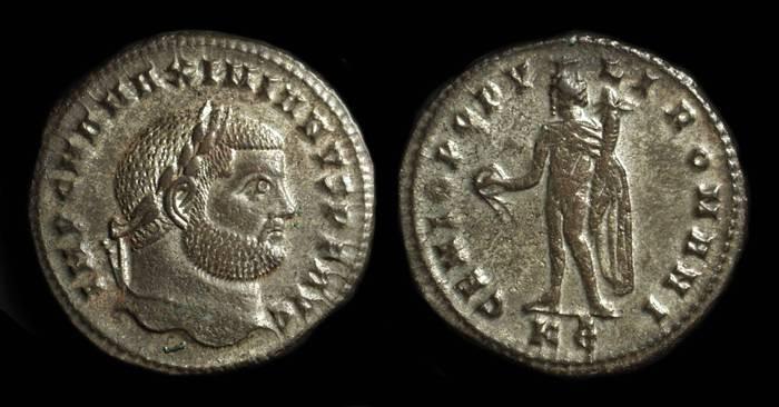 Ancient Coins - MAXIMIANUS, AD 286-305. Æ Large Follis (8.82g).