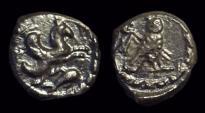 Ancient Coins - PHOENICIA, Tyre. AR Sixteenth-Shekel (0.75g), c. 425-394 BC.