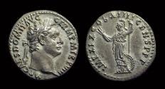 Ancient Coins - DOMITIAN, AD 81-96. AR Denarius (3.24g). Rome mint.