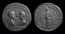 Ancient Coins - GORDIAN III & Tranquillina, AD 238-244. Æ 26 (12.67g) of Tomis. Ex: CNG 1997