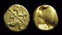 Ancient Coins - PERSIAN EMPIRE. AV Daric (8.33g), c. 485-375 BC.