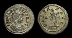 Ancient Coins - CARINUS, AD 283-285. Billon Antoninianus (3.76g). Rome mint.
