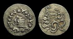 Ancient Coins - MYSIA, Pergamon. AR Cistophoric Tetradrachm (12.54g), c. 133-67 BC.
