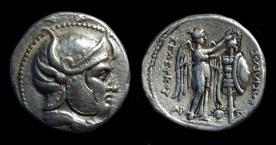 Ancient Coins - SELEUKID KINGDOM. Seleukos I, 312-280 BC. AR Tetradrachm (17.11g).
