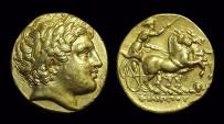 MACEDON, Kings of. Philip III Arrhidaios, 323-317 BC. AV Stater (8.55g). Lampsakos mint.