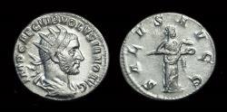Ancient Coins - VOLUSIAN, AD 251-253. AR Antoninianus (2.78g).