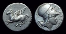 Ancient Coins - SICILY, Syracuse. AR Stater (8.50g), c. 344-317 BC.
