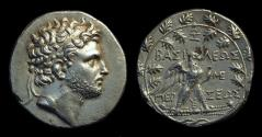 Ancient Coins - MACEDON, Kings of. Perseus, 179-168 BC. AR Tetradrachm (16.70g).